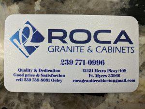 Roca Granite – Ft. Myers FL